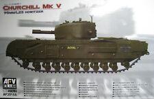 1/35 British Churchill MK.V Heavy Tank Model Kit by AFV Club