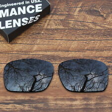 T.A.N Black Polarized Etching Anti-Seawater Lenses For-Oakley Holbrook OO9102