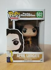 Funko POP Television Parks and Recreation #502 April Ludgate Aubrey Plaza New