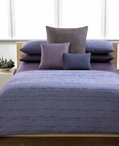 $115+tax CALVIN KLEIN SYDNEY MUSCAT KING SHAM ASIAN JAPANESE VIOLET BLUE ITALY