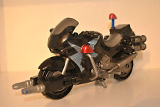 Power Rangers Space Patrol Delta cycles SPD Moto Noir 2004 Bandai Mighty