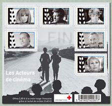 Feuillet F4690 - Grands noms du cinéma français - 2012