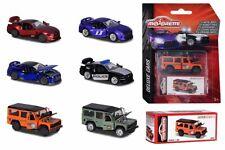 212053152 Majorette Deluxe Cars Blister Box Land Rover Nissan Ford