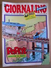 GIORNALINO n°31 1982 Cristina D'Avena Pinky Fumetto Alberto Schiaffino [G409A]