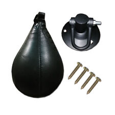 BOXING SPEEDBALL FLOOR TO CEILING BALL SWIVEL MMA  PUNCHING BALL TRAINING BALL