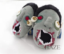 horrible zombie Kyonshi plush indoor slippers shoes kid gift