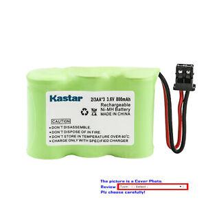 Kastar Cordless Battery Fits for Uniden BT-185 1-528-376-31 XC-315 XC-330 XC-600