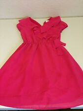 Blush By Us Angels Red Dressy Dress Child Size 10 Faux Wrap