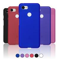 For Google Pixel 3 XL Soft Frosted Slim Matte Silicone Gel TPU Cover Case Skin