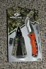 """NEW Mossy Oak 2pk Multi-Tool and Knife Set With Sheath 15-in-1 Tool 3.5"""" Blade"""