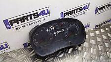 2001-2009 VW POLO 1.2 PETROL CLOCK SPEEDOMETER MPH 6Q0920900H 16050200239