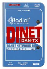 Radial DiNet Dan-TX Dante network transmitter,  BEST OFFER R030