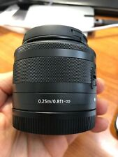 Canon EF-M 15-45mm f/3.5-6.3 IS STM Lens (Great Condition, Barely Used!)