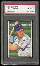1952 Bowman #161 Jackie Jensen *NY Yankees* PSA 8 NM-MT #05030504
