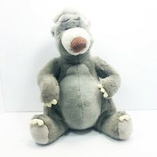 "Disney Exclusive The Jungle Book Plush Baloo 15"" Vintage Stuffed Animal Toy"