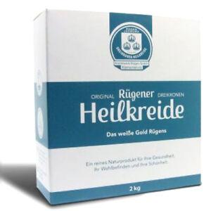 (6,98 EUR/kg) Rügener Dreikronen Heilkreide (2 kg Pckg.) Kreide Pulver