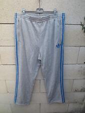 Pantalon ADIDAS rétro vintage pant jogging gris trefoil coton oldschool L