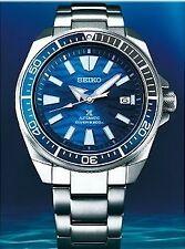 Seiko SE Save the Ocean Great White Shark Samurai Diver's Men's Watch