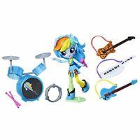 My Little Pony Equestria Girls Minis Rainbow Dash Rocking Music Class Set