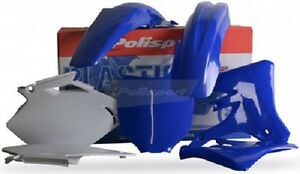 Polisport Plastic Kit Set Blue Complete Yamaha YZ250F YZ450F 2003-2005