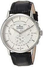 NEW Edox Les Bemonts Men's Perpetual Calendar Watch - 01602-3-AIN