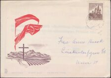 Austria - 1959 - 1 Schilling Chocolate Mariazell Church  # 622 First Day Cover