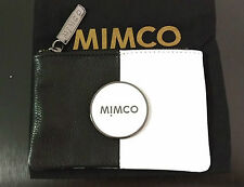Mimco Black and White Tandem Mim Pouch Small Bag Wallet Coin Purse BNWT