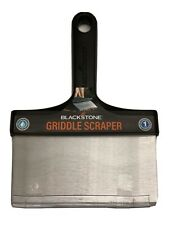 """Blackstone Stainless Steel 6"""" Griddle Scraper with Plastic Handle"""