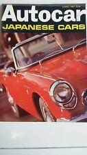 AUTOCAR Magazine 6/4/67 Test Honda S 800, Alfa GT A, Circuit Of Ireland B.M.C