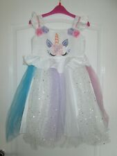girls dress age 7-8-9 Unicorn DISNEY Princess party sundress Easter wedding