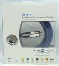 WireWorld Luna 7 subwoofer audio interconnect cable 8 meter