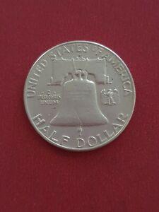 1963 Silver Half Dollar United States of America USA US