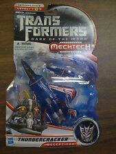 Transformers DOTM Thundercracker Figure Mechtech Deluxe Class NEW FREE SHIP US