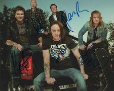 Gotthard autógrafos signed 20x27 cm imagen
