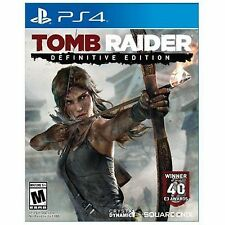 TOMB RAIDER DEFINITIVE EDITION  (PS 4, 2014)  (3803)     FREE SHIPPING USA