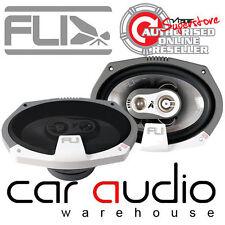 Fli FI9 F3 6x9 inch 375 Watts 3 Way Car Rear Shelf Speakers Van Speakers
