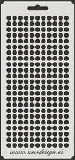 Scrapbooking Schablone S-037  Kreise Klein ~ Stencil ~ UMR-Design