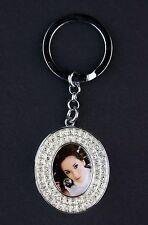 Erno Foto-Schlüsselanhänger Glamour Diamond O Oval 1,8x2,3 cm 02056