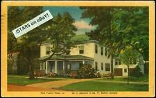 c. 1946 DALTON, GA, PARK TOURIST HOME POSTCARD