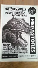 CARTER USM Monsters (Virgin) 1993 UK Poster size Press ADVERT 16x12 inches