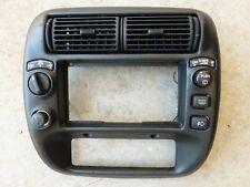 95-02 FORD EXPLORER MOUNTAINEER RADIO DASH BEZEL DEFROST REAR/WIPE FOG 4x4 VENTS
