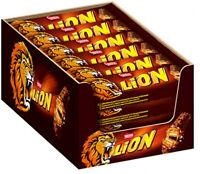 Nestlé LION Schokoriegel Snack Schokolade Crisps Karamellfüllung 24 x 42 g