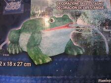 Frosch - XL -Wasserspeier 32 x 18 x 27cm - Garten Deko