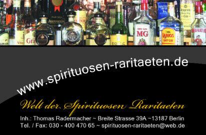 Welt der Spirituosen Raritaeten