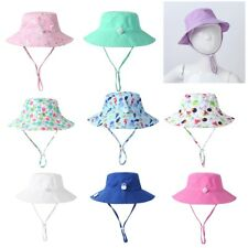 Toddler Baby Kid Sun Hat Wide Brim Summer Swim Beach Pool Cap UPF 50+ Protection