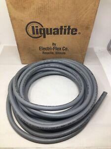 "Electri-Flex 3/8"" ID x 3/4"" OD Flexible Liquatite Conduit 40' Long, LTC-3850"