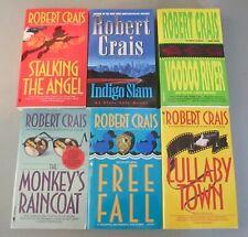Lot of Robert Crais 6 paperbacks & 1 hardback