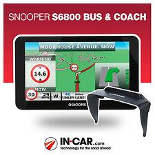 Nuevo Snooper S6800 de autobús y autocar GPS sat Nav vida Uk & European cartografía
