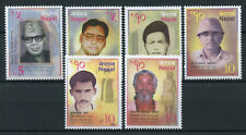 Nepal 2017 MNH Famous People Personalities Persons 6v Set Stamps