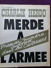 CHARLIE HEBDO # 198 1974 Armée Wolinski Delfeuil de Ton Reiser Gébé Cabu Reiser